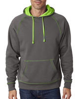 J America Adult Shadow Fleece Pullover Hood