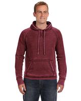 J America Adult Vintage Zen Fleece Pullover Hood