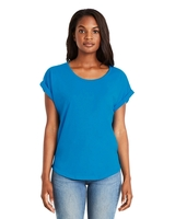 Next Level Ladies Dolman with Rolled Sleeves