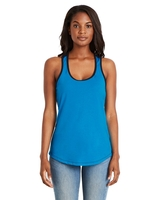 Next Level Ladies Ideal Colorblock Racerback Tank