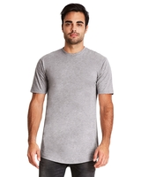 Next Level Mens Cotton Long Body Crew