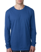 Image Next Level Mens Cotton Long-Sleeve Crew