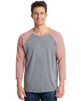 Next Level Unisex Triblend 3/4-Sleeve Raglan