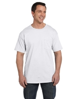 Hanes Adult 6.1 oz. Beefy-T with Pocket
