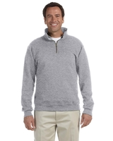 Jerzees Adult 9.5 oz. Super Sweats® NuBlend® Fleece Quarter-Zip Pullover