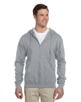 Image Jerzees Adult 8 ounce NuBlend® Fleece Full-Zip Hood