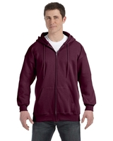 Hanes Adult 9.7 oz., Ultimate Cotton 90/10 Full/Zip Hood