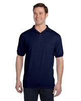 Hanes Adult 5.2 Ounce 50/50 EcoSmart® Jersey Pocket Polo