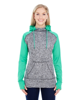 Image J America Ladies Color Block Cosmic Hood