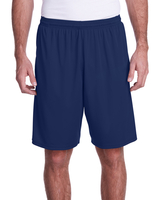 A4 Mens Color Block Pocketed Short