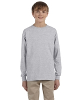 Image Jerzees Youth 5.6 oz., DRI POWER ACTIVE Long Sleeve Tee-Shirt
