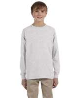 Image Gildan Youth Ultra Cotton® 6 oz. Long-Sleeve Tee-Shirt