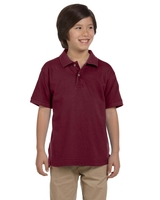 Harriton Youth 6 oz., Ringspun Cotton Piqué Short-Sleeve Polo