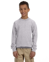 Gildan Youth Heavy Blend 8oz., 50/50 Fleece Crew
