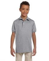 Image Jerzees Youth 5.6 oz. SpotShield™ Jersey Polo