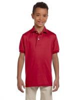 Jerzees Youth 5.6 oz., Spot Shield Jersey Polo
