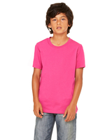 Bella + Canvas Youth Jersey Short-Sleeve T-Shirt