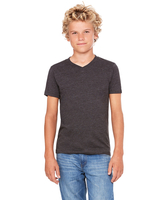 Bella + Canvas Youth Jersey Short-Sleeve V-Neck T/Shirt