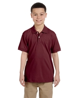 Harriton Youth 5.6 oz., Easy Blend™ Polo