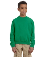 Jerzees Youth 8 oz., Nu-Blend Fleece Crew