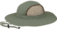 Image Mega Juniper Taslon Partial Mesh UV Sun Hat
