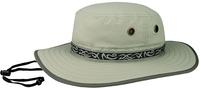 Image Mega Juniper Taslon UV Sun Hat with Jacquard Ribbon