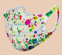 3D Washable Reusable Dot Graphic (Pack of 10) $59=$5.90 each