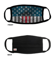 USA Made USA Flag 100% Cotton Face Cover As Low As $5.45 each