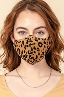 Washable Reusable Leopard 95% Cotton/5% (Pack of 10) $35.00=$3.50 each