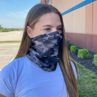 Face Neck Reusable & Washable Gaiter 100% Polyester as low as $5.50 each