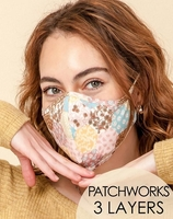 3-Layer Patch Washable Reusable (Pack of 10) $20.00=$2.00 each