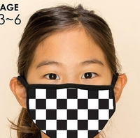 KIDS 2-Layer Checker Washable Reusable (Pack of 10) $20.00=$2.00 each copy