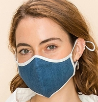 2-Layer Denim Face Washable Reusable (Pack of 10) $20.00=$2.00 each