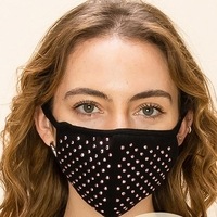 2-Layer Bling Face Washable Reusable (Pack of 10) $48.00=$4.80 each