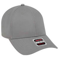 Image Otto-Brushed Stretchable Superior Cotton Twill Low Profile Style Baseball Cap