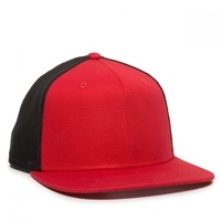 Image Outdoor Classic 6 Panel Snap Back Flat Bill Trucker Hat