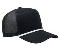 Image Cobra-5-Panel Classic Twill Mesh Back Golf Cap w/Braid