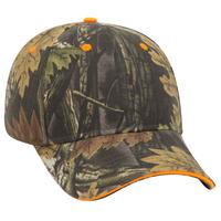 Image OTTO CAP Camouflage 6 Panel Baseball Cap