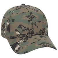 Image OTTO CAP Digital Camouflage 6 Panel Low Profile Baseball Cap