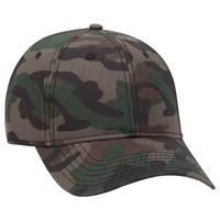Image OTTO CAP Camouflage 100% Cotton 6 Panel Baseball Cap