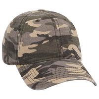 Image OTTO CAP Camouflage Garment Washed Baseball Cap