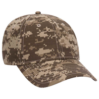 Image OTTO CAP Digital Camouflage Cotton Ripstop Baseball Cap