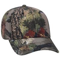 Image OTTO CAP Camouflage 6 Panel 100% Polyester Baseball Cap