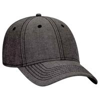 Image OTTO CAP 6 Panel Low Profile Cotton Blend Chambray Baseball Cap