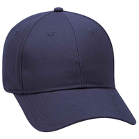 Image OTTO CAP 6 Panel Low Profile Brushed Cotton Blend Twill Baseball Cap