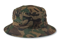 Image Cobra- Bucket Camo Military Green Twill