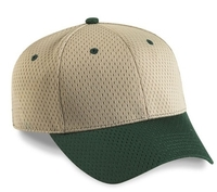 Cobra-6-Panel Low-ProfileTwo Tone Athletic Jersey Mesh Hat