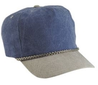 a8cae5fb Budget Caps | Cobra-5-Panel Two Tone Stone Washed Canvas